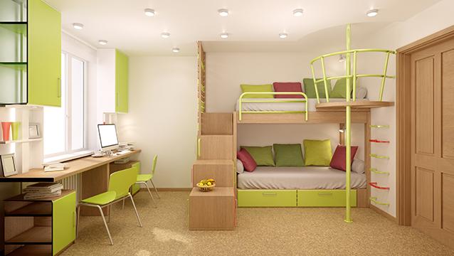 Kullanışlı Çocuk Odası Dekorasyon Fikirleri