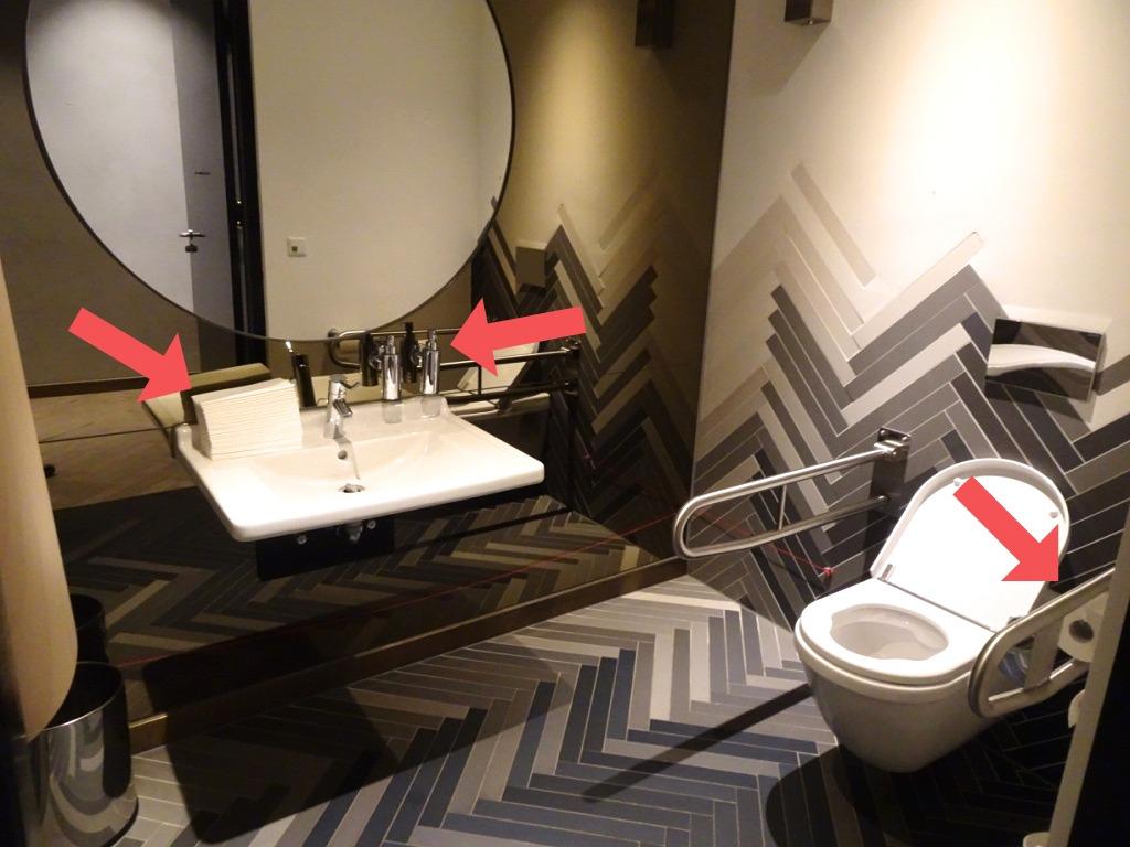 Tekerlekli sandalye wc