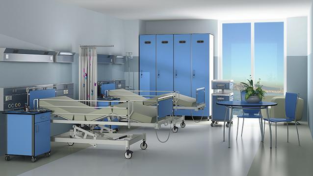 """Hasta Yatak Altları İçin Hijyenik Çözüm: """"Kompakt Laminat"""""""