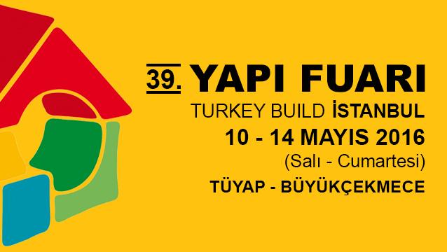 İSTANBUL YAPI FUARI 2016 BAŞLIYOR!